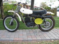 AMS Racing | Bikes For Sale | 1972 Yamaha Hindall DT-1 250cc Motocross Special