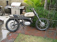 AMS Racing | Bikes For Sale | 1970 Yamaha DT-1 250cc - Project