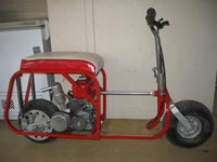 AMS Racing | Featured | 1963 Go Devil Scooter