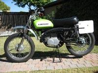 AMS Racing | Featured | 1970 Kawasaki Greenstreak