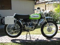 AMS Racing | Featured | 1970 Kawasaki Greenstreak
