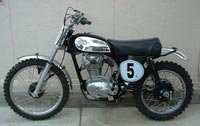 AMS Racing | Featured | 1963 Ducati narrow.case 350cc Scrambler